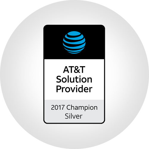 AT&T Solution Provider - 2017 Champion Silver
