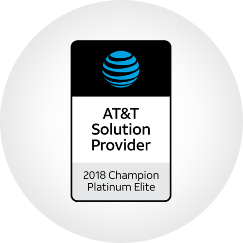 AT&T Solution Provider - 2018 Champion Platinum Elite