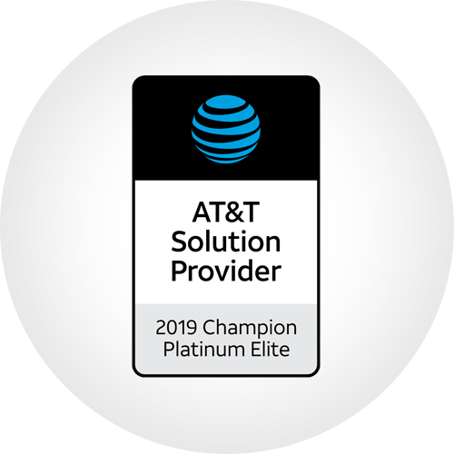 AT&T Solution Provider - 2019 Champion Platinum Elite