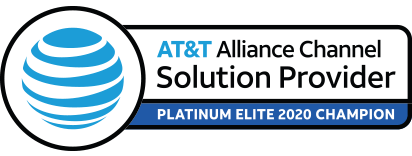 AT&T Alliance Channel Solution Provider - Platinum Elite 2020 Champion